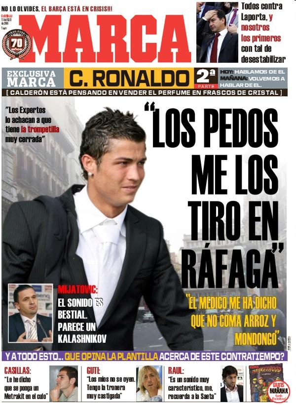 Cagada de portadas Marca