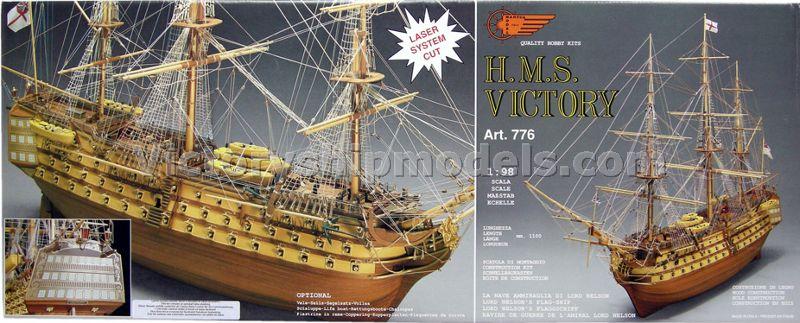 H.M.S Victory 1:98 Mantua Model Victory0-modely-lodi