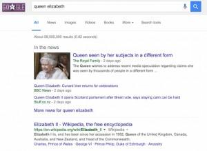 """Королева Елизавета предупредила о начале «священной войны» и сказала, что теперь «никто не знает, кто будет жить, а кто умрет» (В ответ Президент Путин заявляет, что королева Елизавета """"не человек""""?) Google-screenshot1-300x219"""