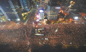 OUTRAGE! South Korea's Satanic President Park Geun-hye Impeached - Millions Protest In The Streets  582790b02f11b-300x180