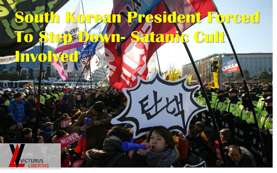 OUTRAGE! South Korea's Satanic President Park Geun-hye Impeached - Millions Protest In The Streets  Cover-560x350