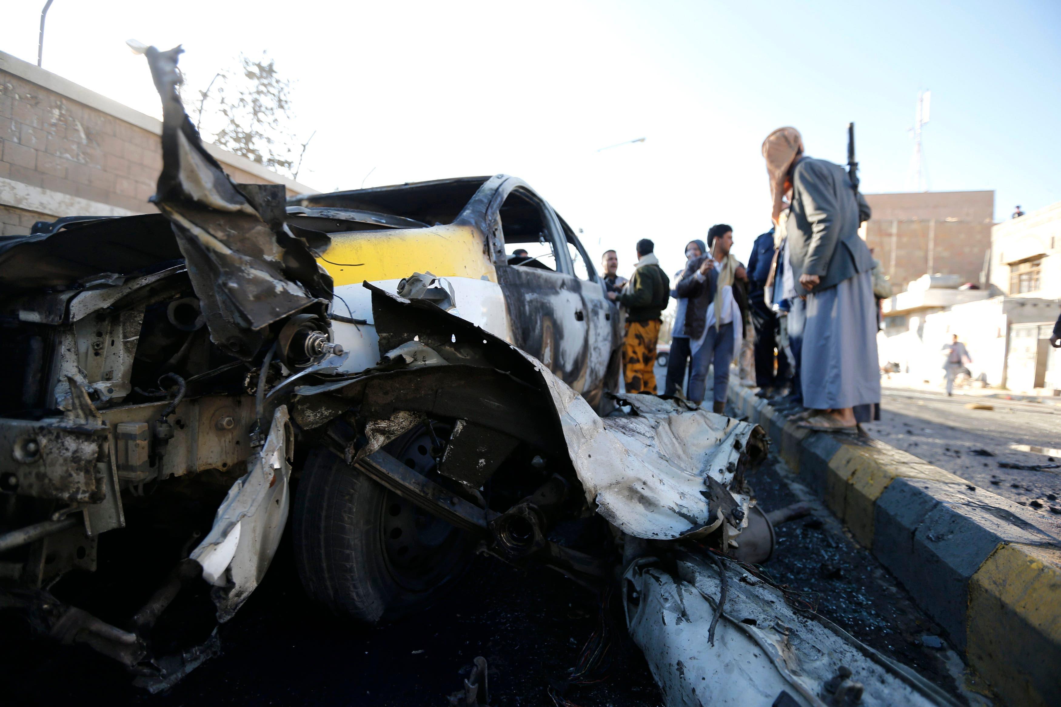 صنعاء عشرات القتلى في تفجير دامٍ فجراً7/1/2015  3d188964-bbac-44cd-b6f2-4d9e25747a59
