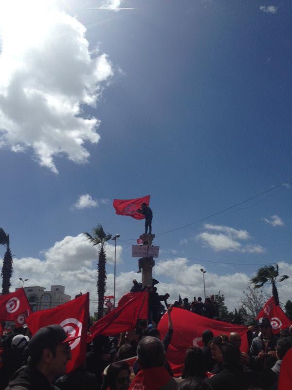 """بدء مسيرة تونس """"ضد الإرهاب"""" بمشاركة زعماء العالم 29159d8d-39b9-441d-a323-d10c23e99e6b"""