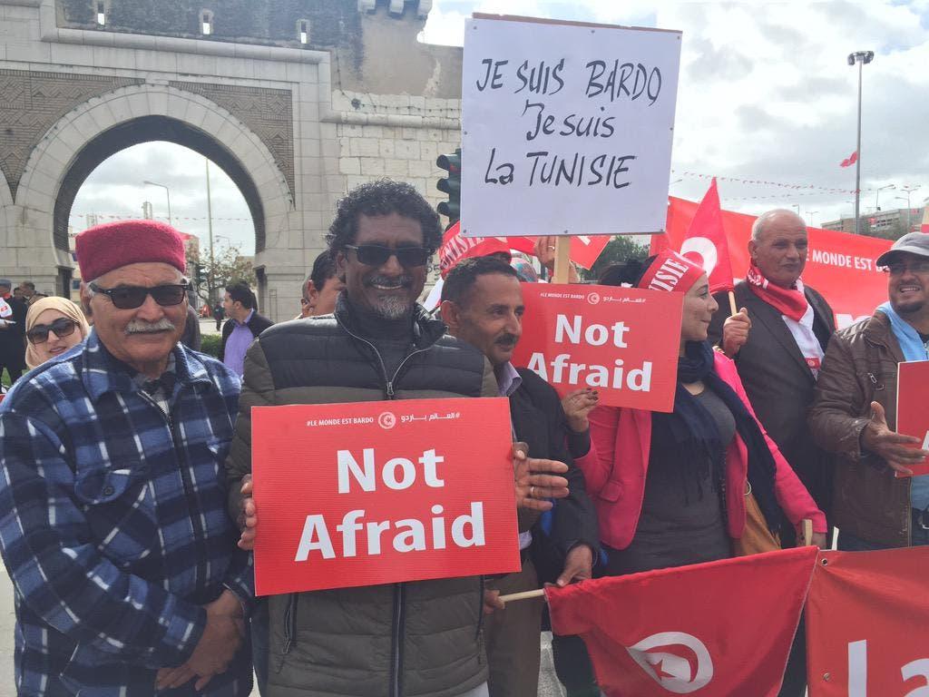 """بدء مسيرة تونس """"ضد الإرهاب"""" بمشاركة زعماء العالم E9b7be47-4b6e-417b-8a44-f04190b59e5f"""