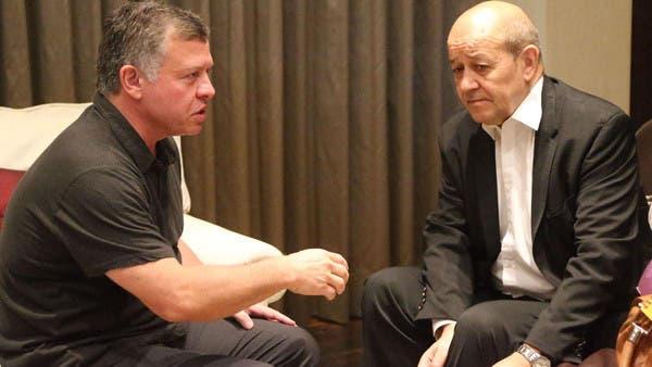 ملك الأردن ووزير دفاع فرنسا بحثا جهود التصدي للإرهاب F0539191-1de7-4b83-b485-bf0ea00cca9c_16x9_600x338