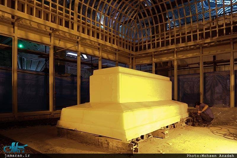 مقبرة #الخميني مؤسس النظام الإيراني الأكثر كلفة بالعالم 11a67931-8cdd-4a45-b1e2-f54f28497d67
