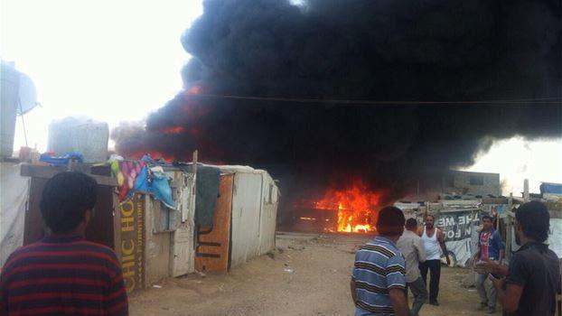 حريق ضخم في مخيم المرج للنازحين السوريين في لبنان Af3c6f9a-7f19-41e3-a591-33184936347a