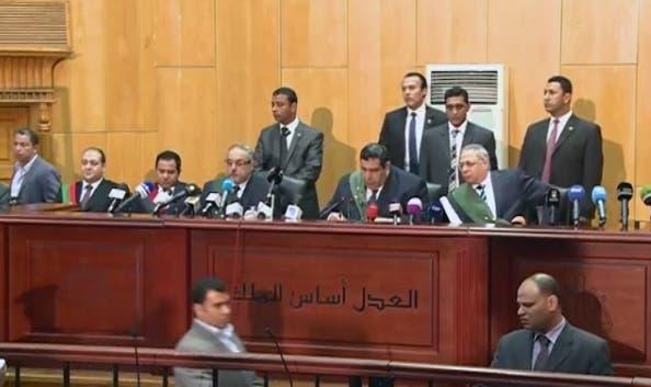 """الإعدام لمرسي وبديع بـ""""السجون"""" والمؤبد لهما بـ""""التخابر"""" 3b6405cb-b9fa-43a0-b77a-6c36cf12a2ac"""