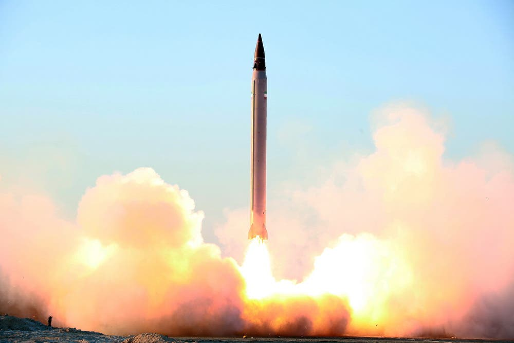 """طهران تختبر صاروخ """"عماد"""" بعيد المدى والمصنع بإيران F10bbff8-0167-454f-800e-0e205fc6c74e"""
