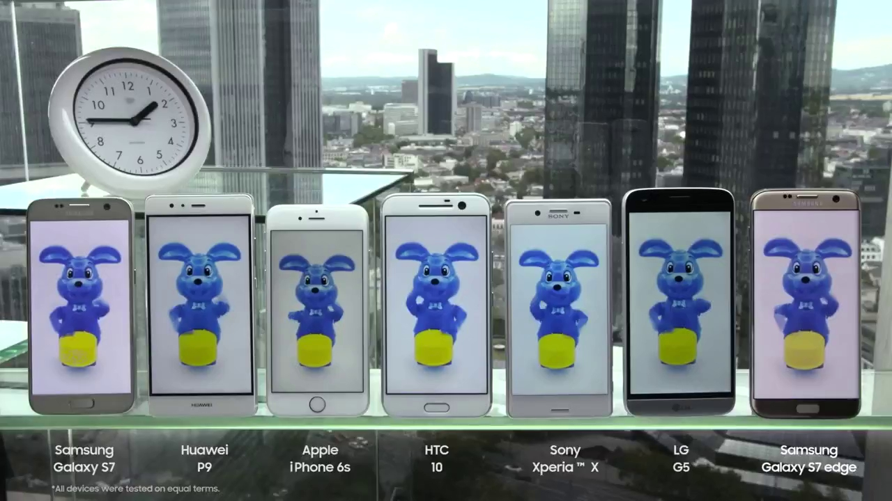 Mobile • Samsung khoe video test thời lượng pin: Galaxy S7 số 1, LG G5 đứng bét bảng • http://i.imgur.com/cykRmbi.jpg • Samsung Đức vừa chia sẻ video quay lại cảnh họ thử nghiệm thời lượng pin của một... Der-samsung-battery-test-2016-1469784245748-ebe4e