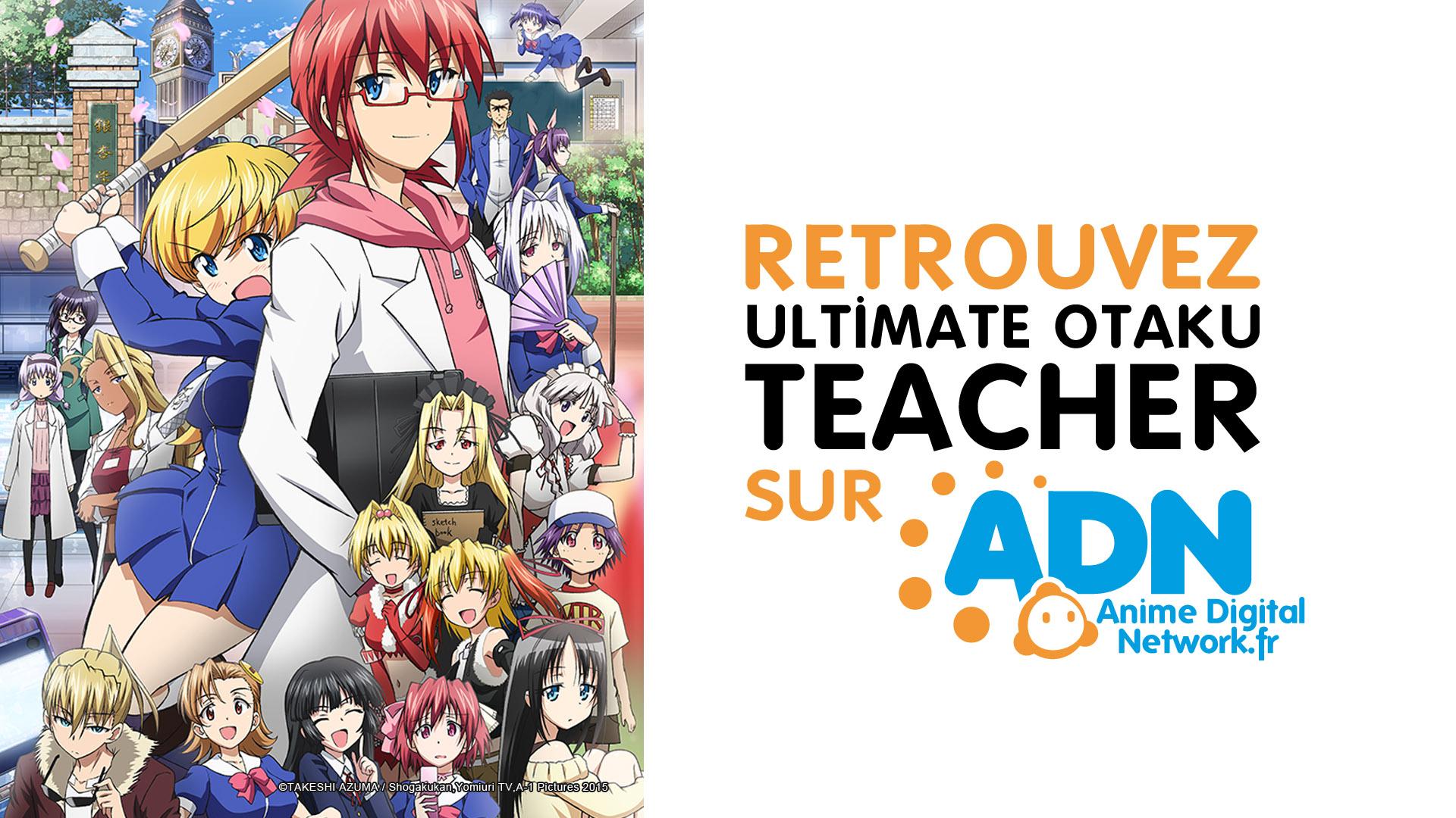 [Printemps 2015] Annonces et liste des simulcasts Ultimate_otaku_teacher_ADN