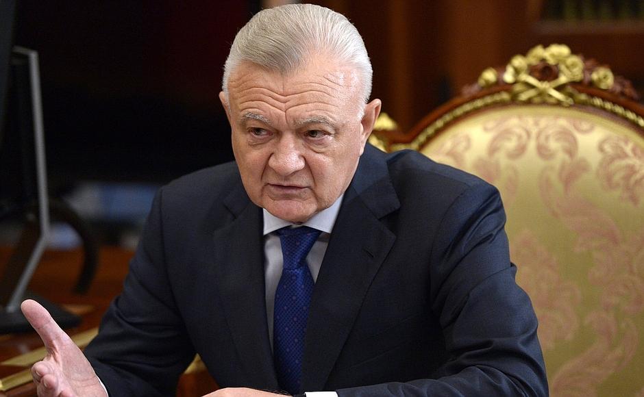 Ковалев рассказал Владимиру Путину, как закончил полугодие 3_1442