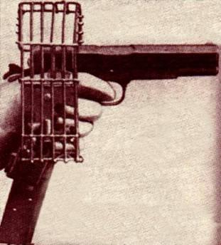 Affût aérien de 10 pistolets Mauser. Image010