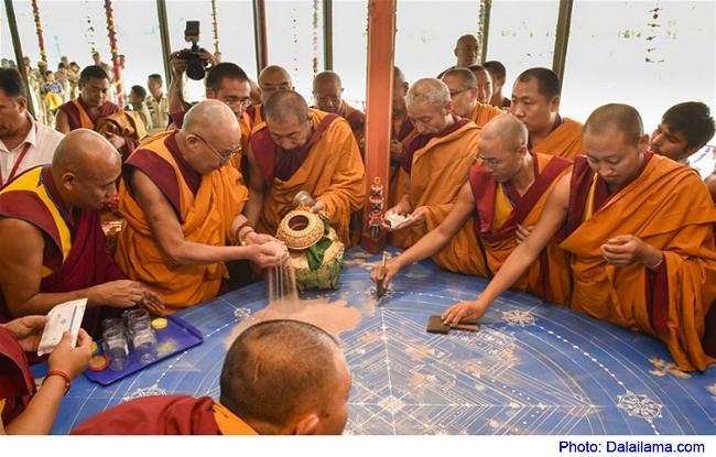 Bình An Nội Tâm - Cân Bằng Cuộc Sống Dalai-lama-mandala