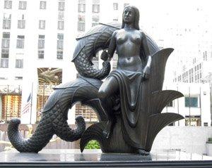 Le mythe de la chute de Lucifer et de Prométhée Maiden