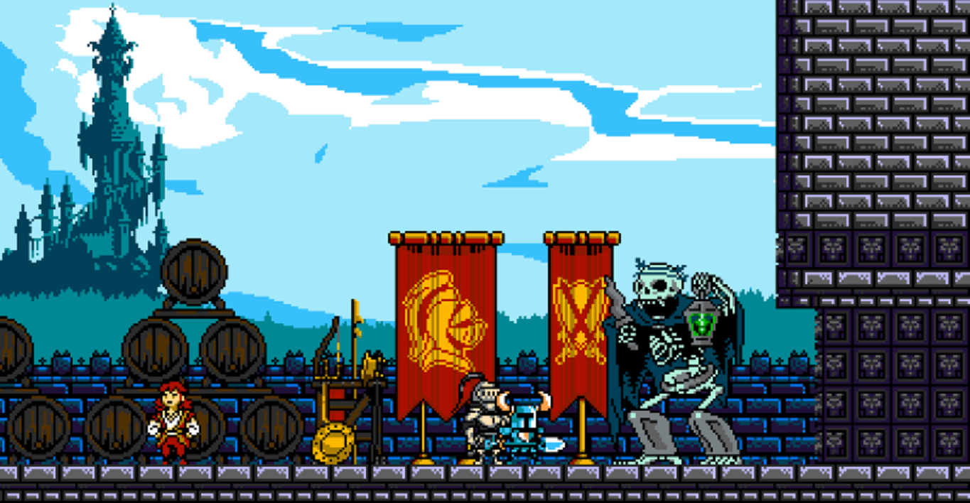 Shovel Knight sur android. Streetpass