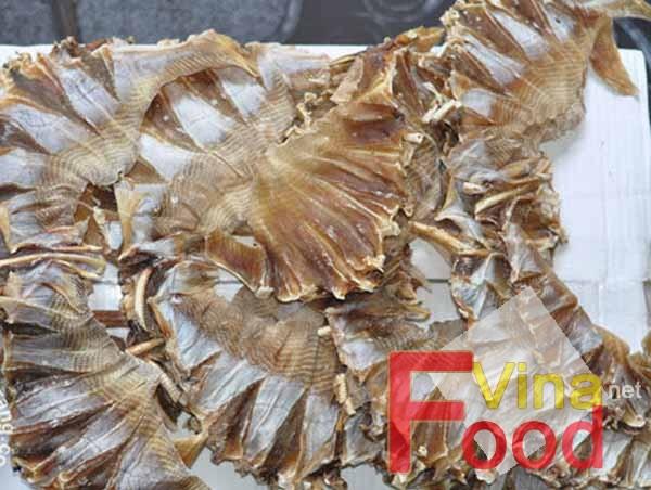 Lợi ích khô cá đuối là cung cấp độ đạm và canxi cao Kho-ca-duoi