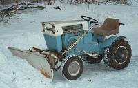 Vintage Sears Garden Tractors