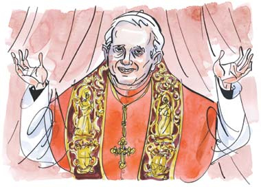 preuve de la vacance - PREUVE DE LA VACANCE (au moins formelle) DU SAINT-SIÈGE Ratzinger2