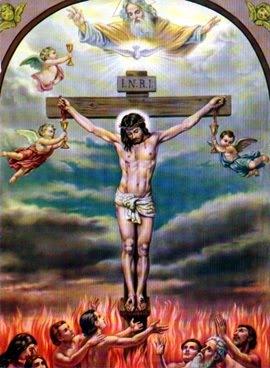 Novembre : Prions pour nos chers défunts les âmes du Purgatoire ! Souls-in-purgatory