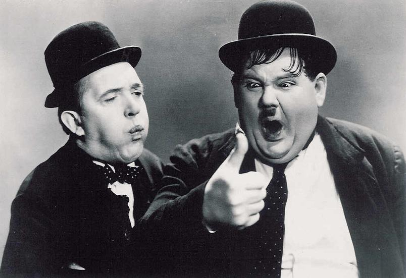 Glasgow and Edinburgh: Ongoing Banter Thread V - The Fun Continues Laurel-and-hardy