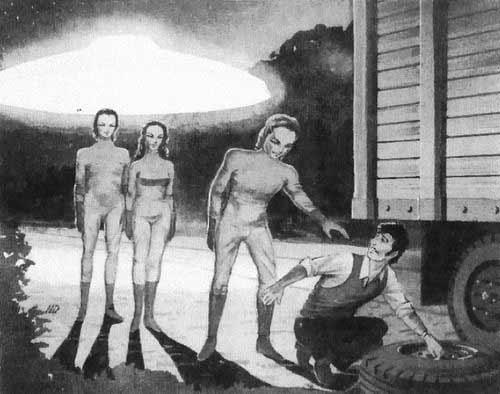 Высокие белые пришельцы. «Белогвардейцы». Возможно Кортеум? Интервью с Чарльзом  Холлом 1-1251