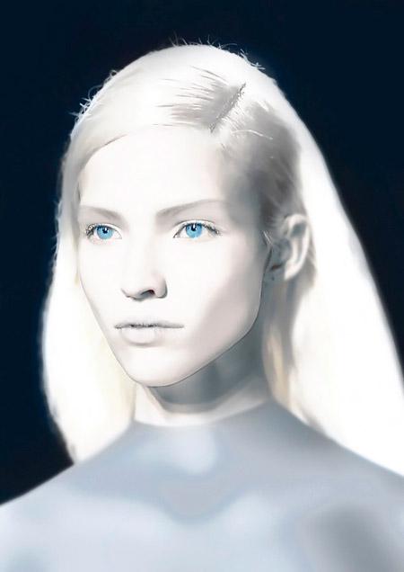 Высокие белые пришельцы. «Белогвардейцы». Возможно Кортеум? Интервью с Чарльзом  Холлом Nordic-alien-woman-11