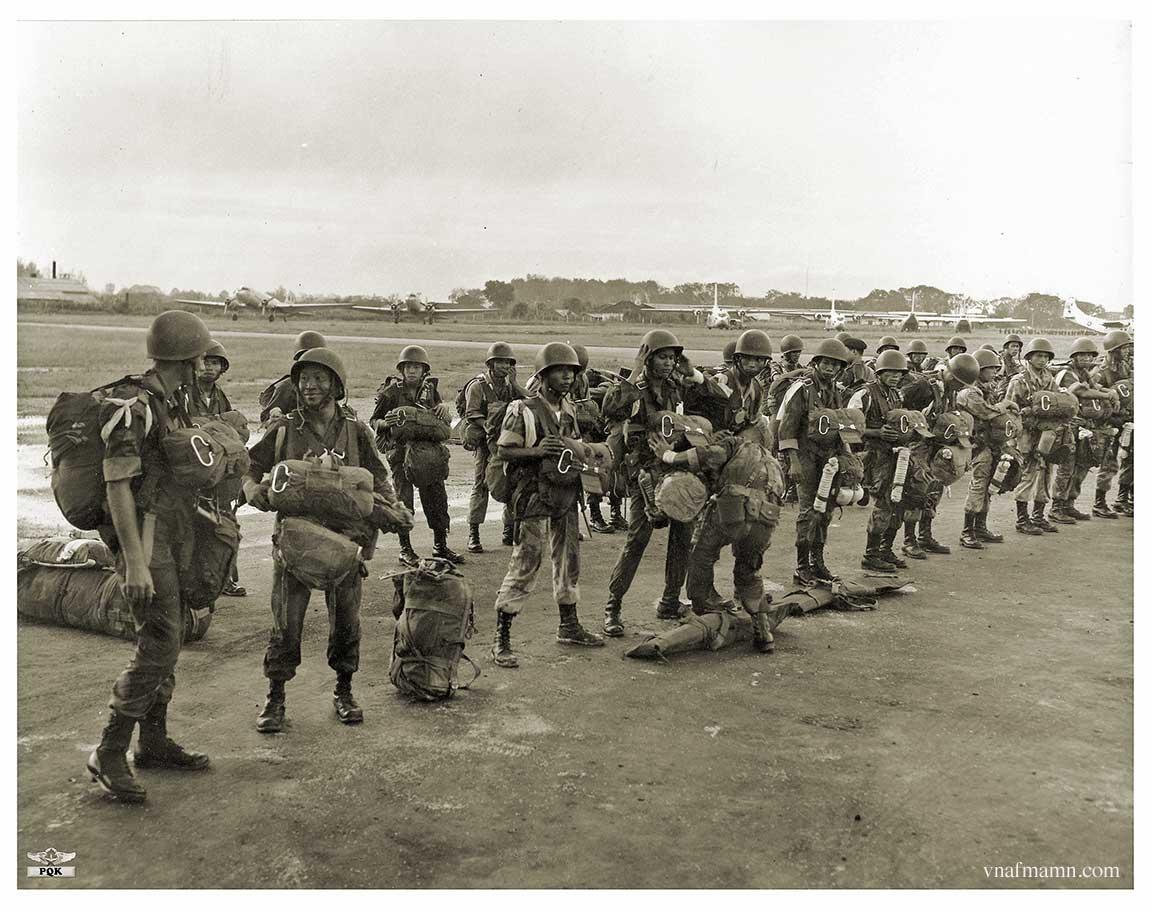 soldats sud-vietnamiens Airborne_ARVN31