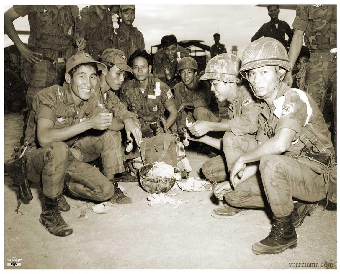 soldats sud-vietnamiens Airborne_ARVN32
