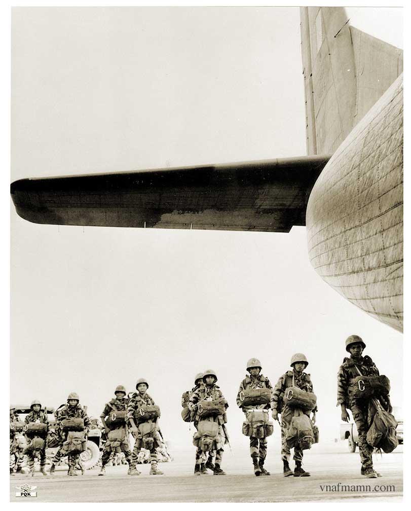 soldats sud-vietnamiens Airborne_ARVN34