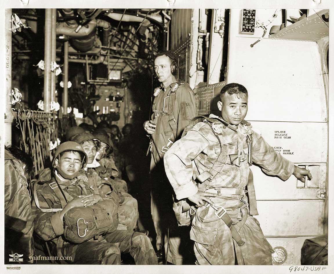 soldats sud-vietnamiens Airborne_ARVN36