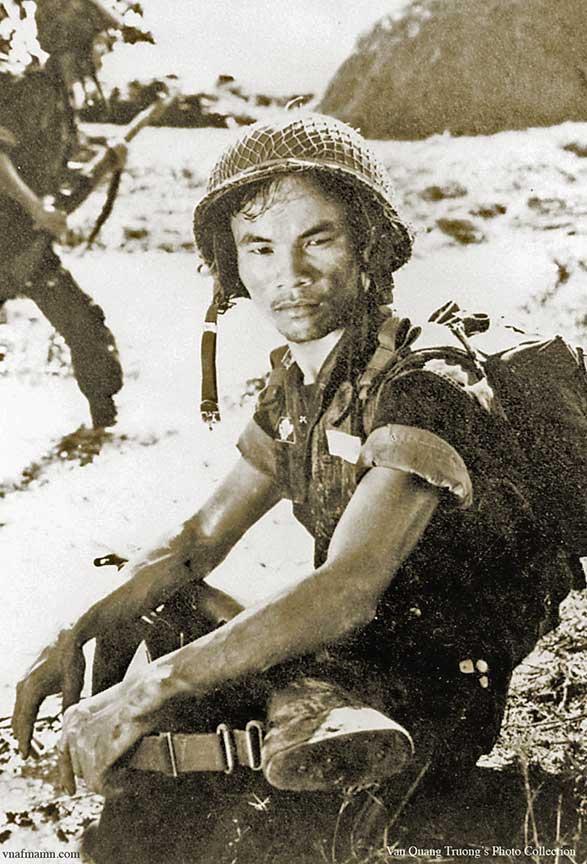 portrait de soldats Airborne_ARVN4