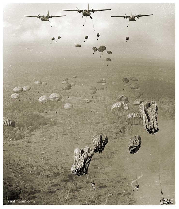 soldats sud-vietnamiens Airborne_ARVN41