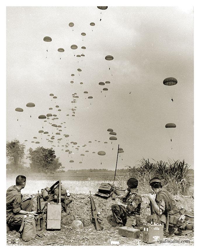 soldats sud-vietnamiens Airborne_ARVN45