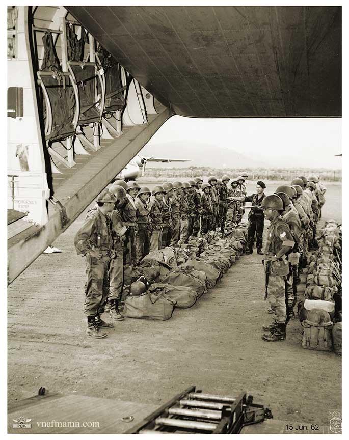 soldats sud-vietnamiens Airborne_ARVN52