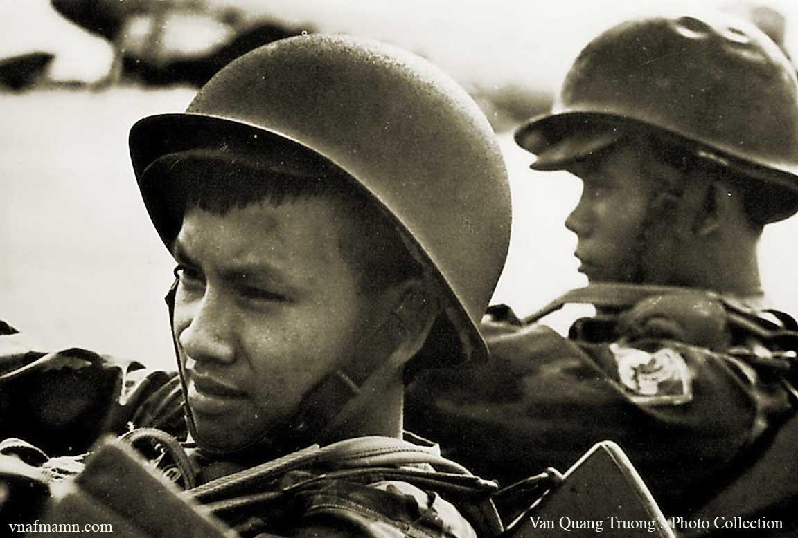 portrait de soldats Airborne_ARVN7