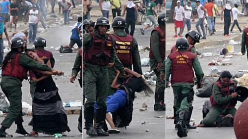 QUE TIPO DE SOCIALISMO QUEREMOS - Página 18 Mujeres-golpeadas-por-la-GNB