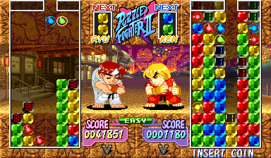 Le jeu NeoGeoPlayers : Breakout Fighters Super-puzzle-fighter2-00