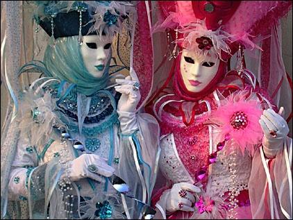 masque venitiens de la Comedia Carnaval_de_venise_2