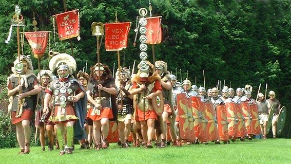Les Légions et Légionnaire Romains