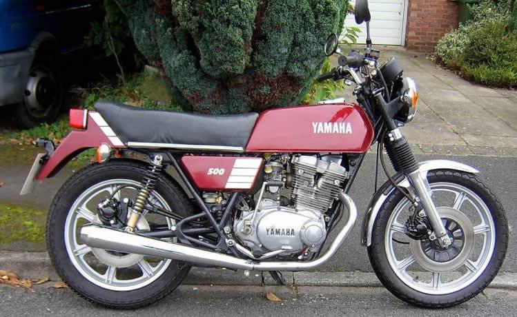 XS 400 bratstyle, tracker à voir... - Page 3 Yamaha500xs1978