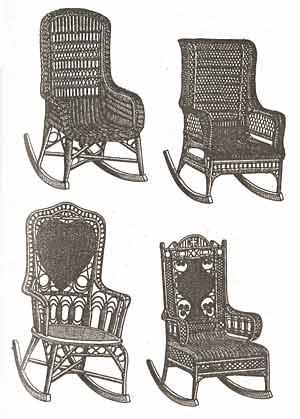 Кресло-качалка из фанеры, подкатной столик. 1203417312_image001