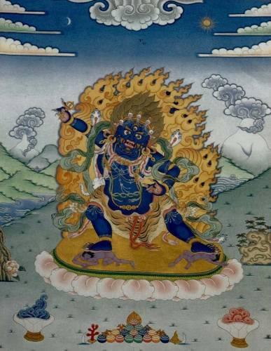 Ваджрапани - гневный бодхисаттва S4986978