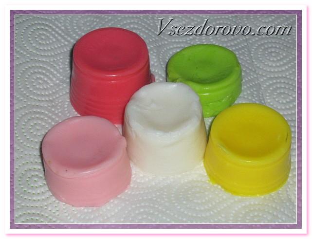 Нежные розочки из детского мыла Soap-roses-06