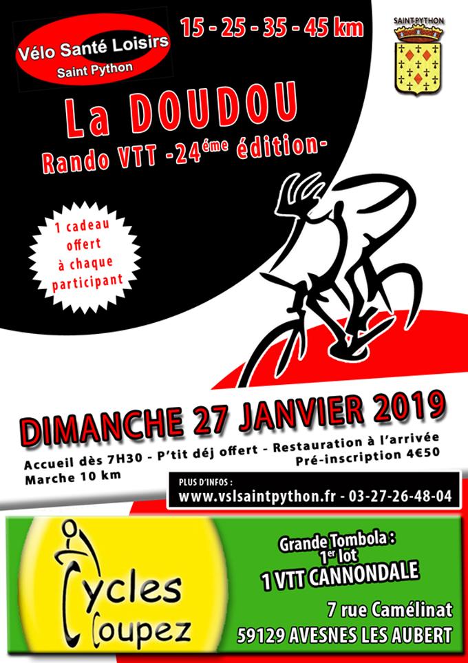 La Doudou Saint python - 27/01/2019 Doudou2019Coupsite