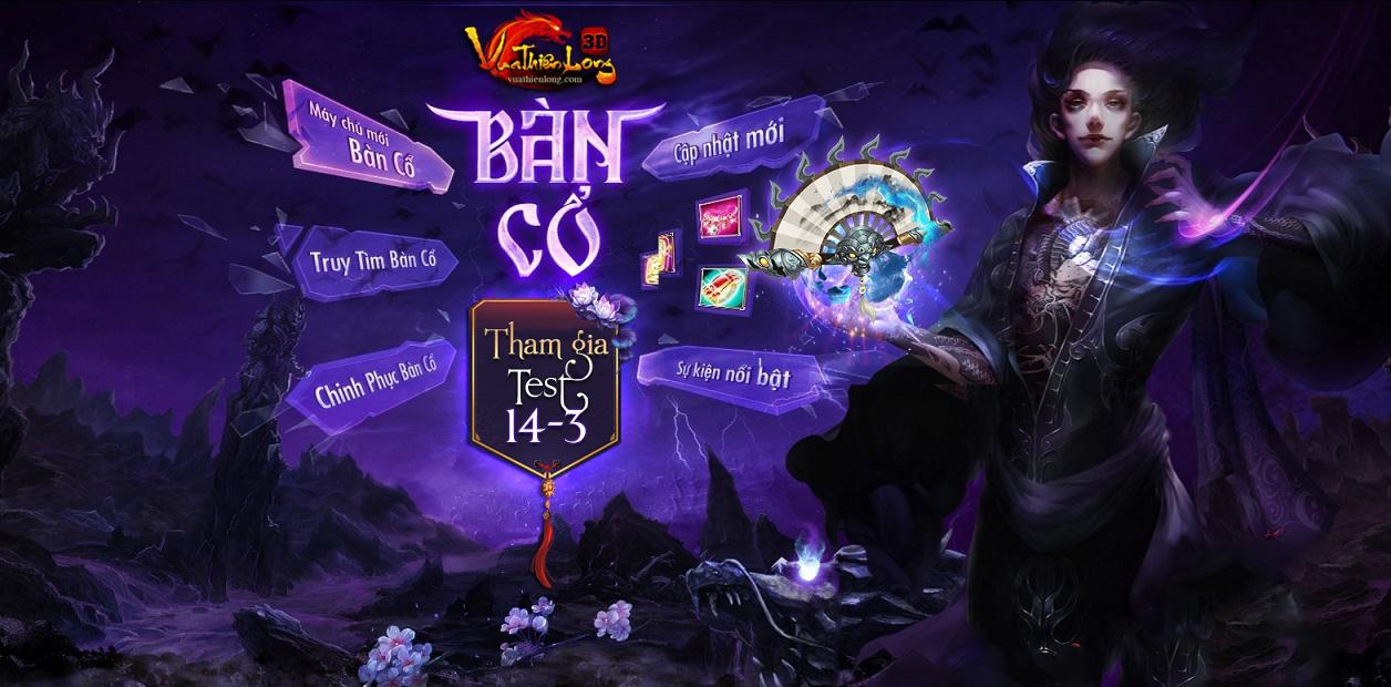 """VUATHIENLONG.COM Mở Test SV S10 """"BÀN CỔ"""" 14H 14/3 Free 100% Hay Hơn Cả Tình Kiếm và VNG BannerVTLBanCo"""