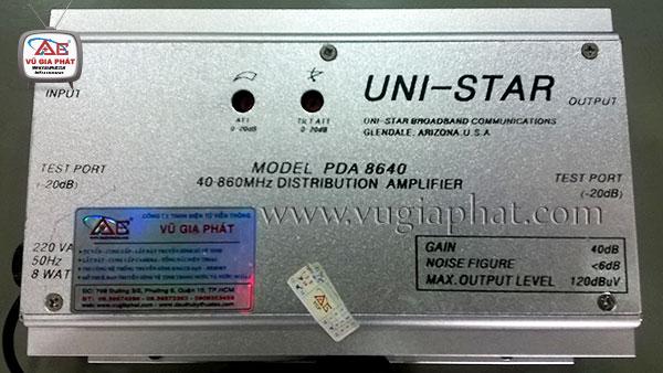 Hướng dẫn lắp đặt cân chỉnh bộ khuếch đại UNI-STAR PDA 8640 Huong-dan-lap-dat-can-chinh-bo-khuech-dai-uni