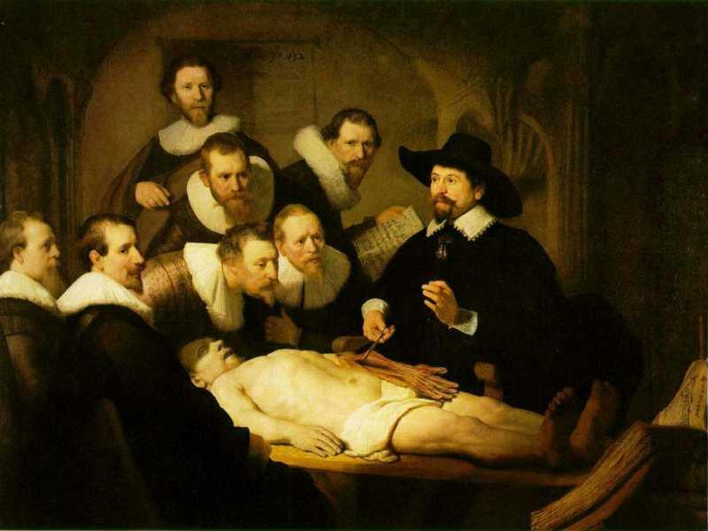 Un'opera d'arte al giorno - Pagina 2 Rembrandt_la%20lezionedianatomiadelsignorTulp1632