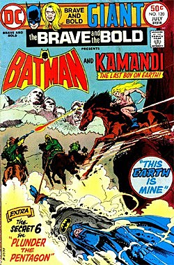 What was the Best Decade Overall for Comics in the Last Century? Kamandi02-1317116629
