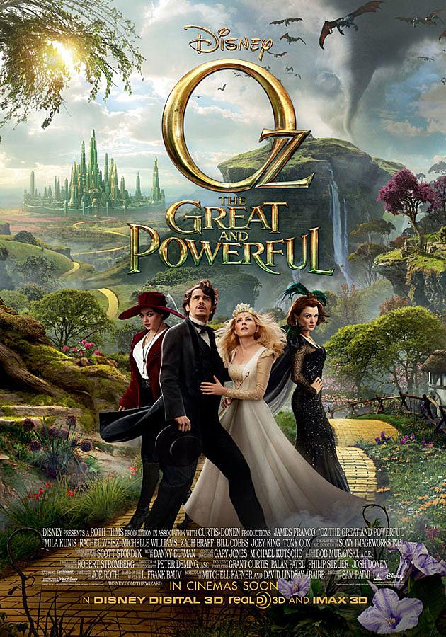 """FILM >> """"Oz: Un Mundo de Fantasía (Oz the Great and Powerful)"""" Oz-the-great-and-powerful-poster-3"""